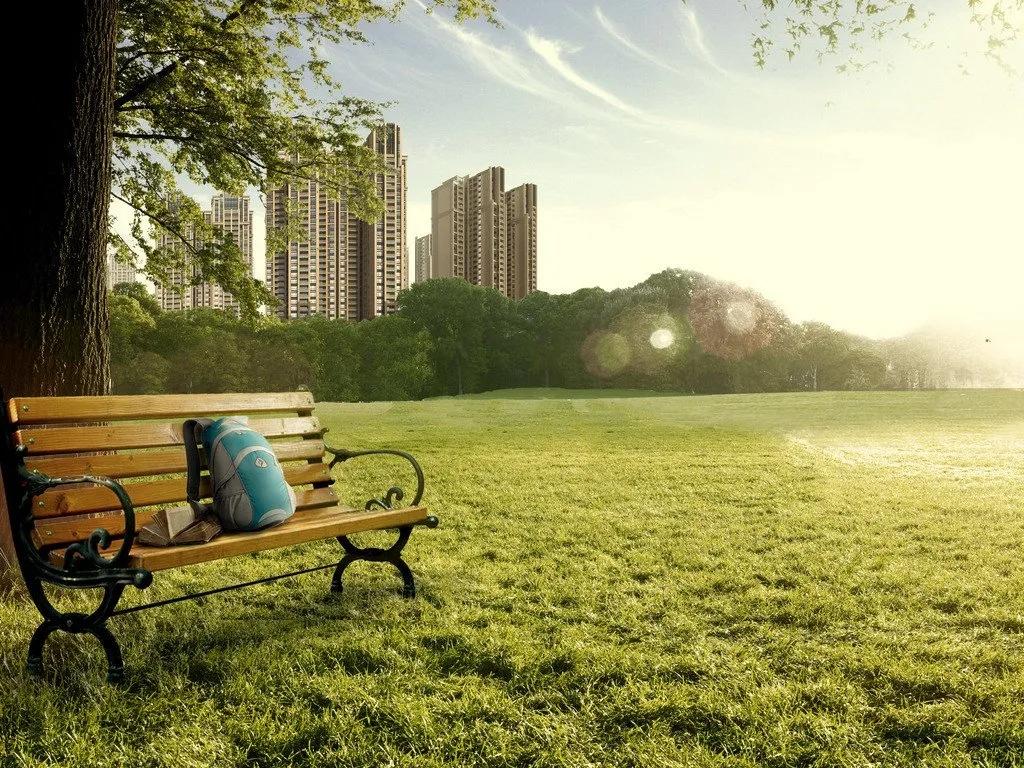 住在公園旁邊,是一種什么樣的體驗