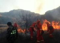 違規祭祀引發山火  咸安兩天查處4起森林火災