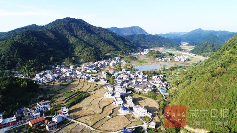 """组图:通山石门古村落的""""美丽嬗变"""""""