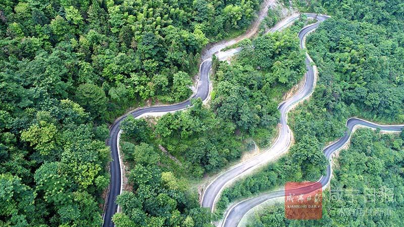 組圖:生態景觀農村路