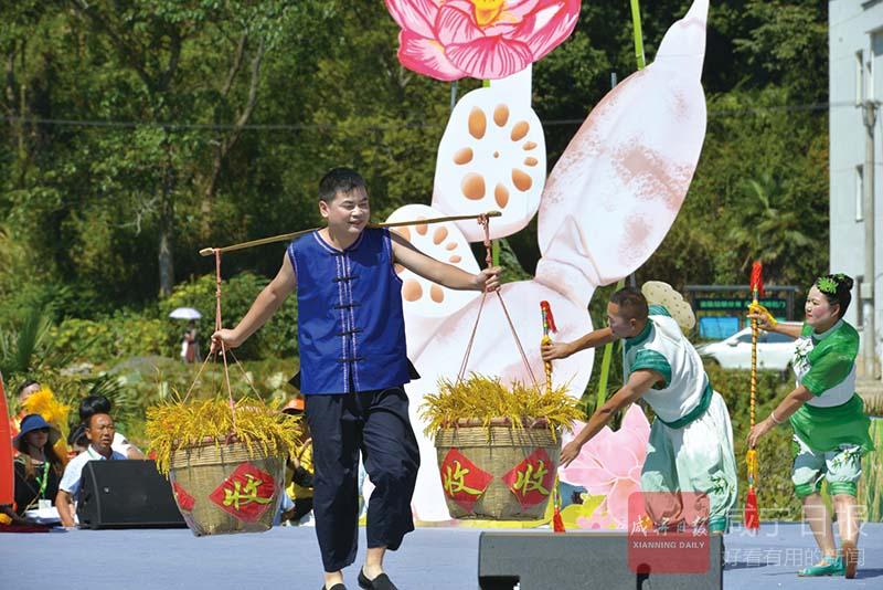 组图:喜气洋洋庆丰收 ——2019年中国农民丰收节湖北主会场活动侧记