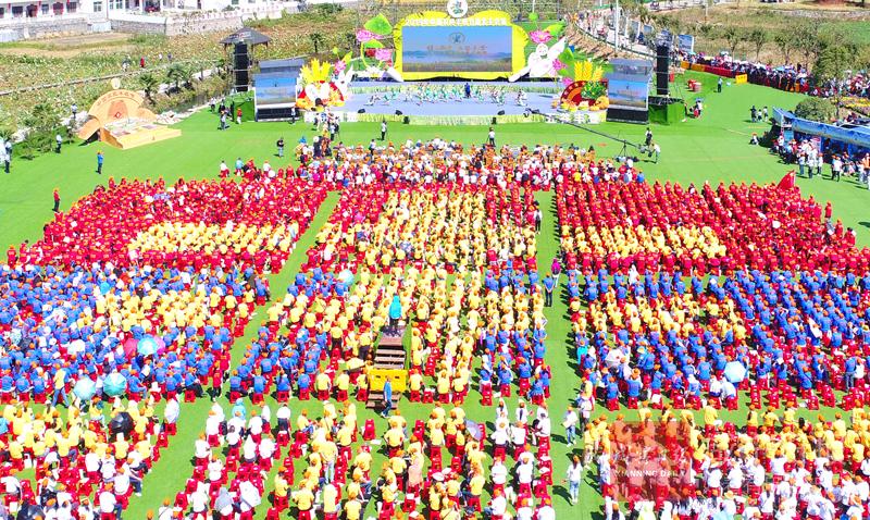 組圖:2019年中國農民豐收節湖北主會場活動剪影