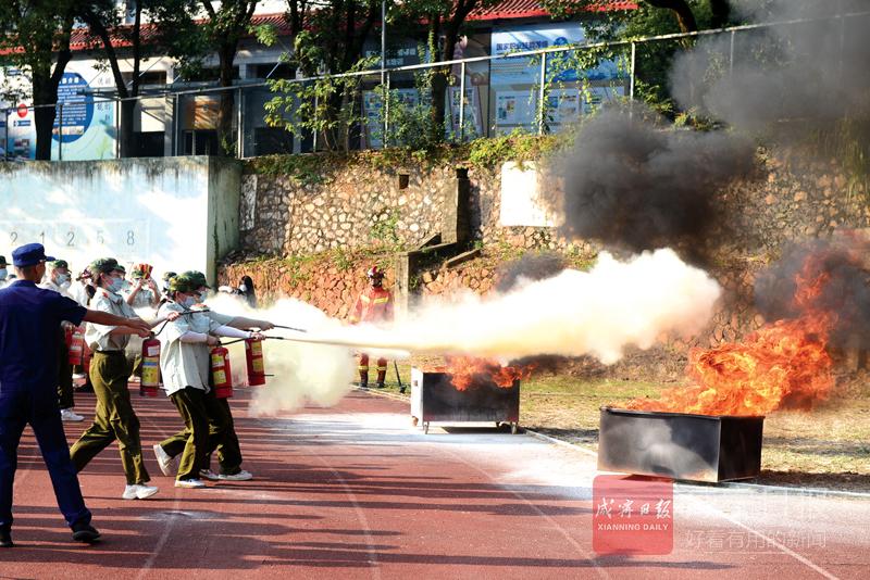 組圖:消防安全知識進校園