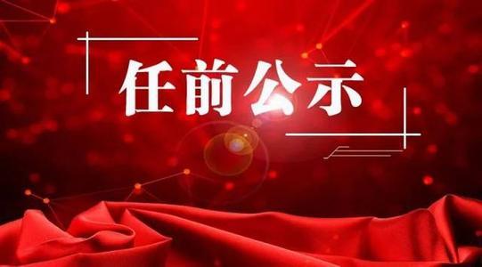 中共咸宁市委组织部干部任前公示公告