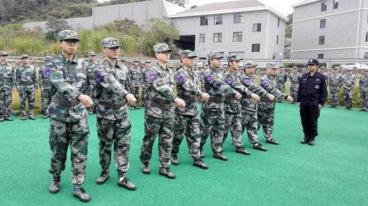 咸寧舉行2021年重點民兵骨干集訓比武動員會