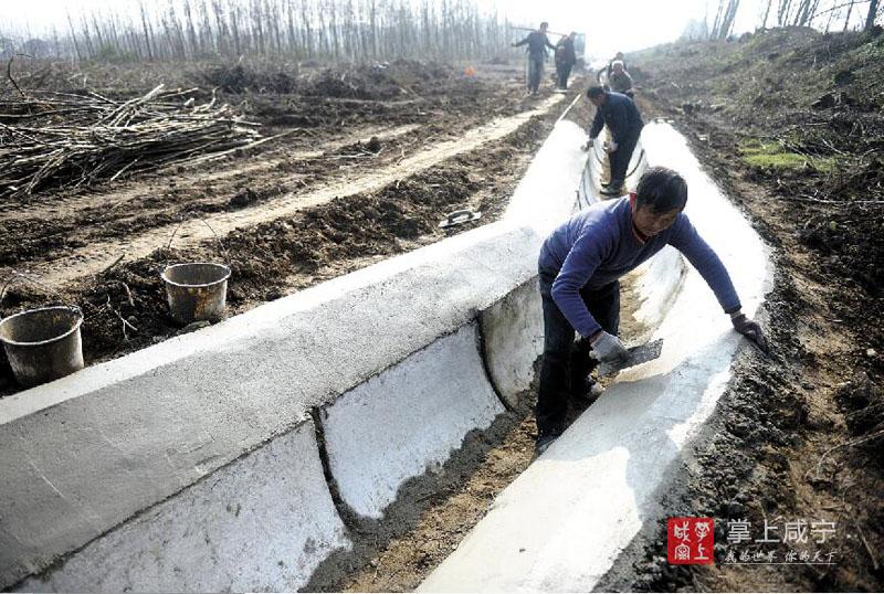 图文:修复水毁工程