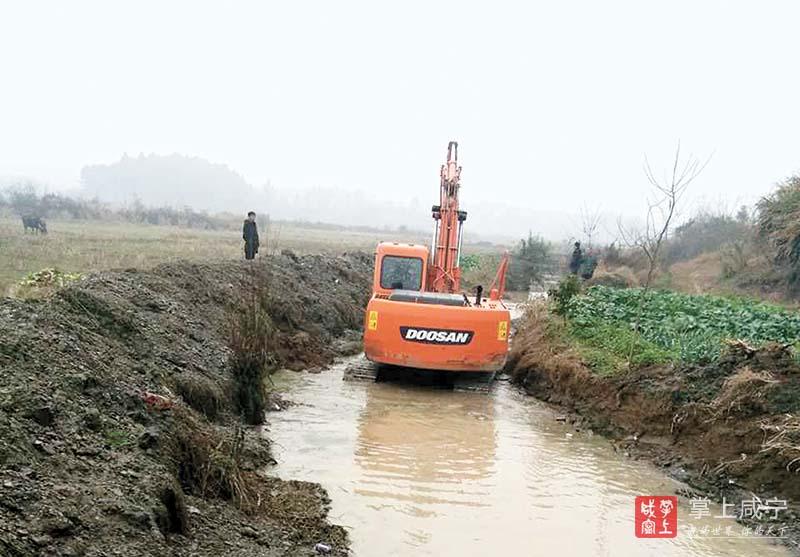 图文:修水利备春耕
