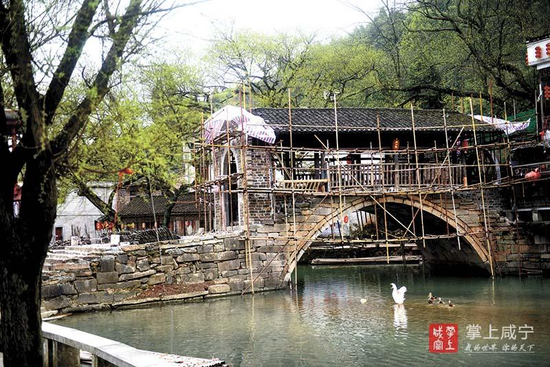 图文:修缮刘家桥