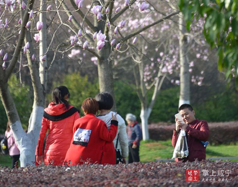 图文:享受春光