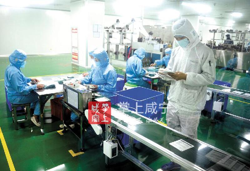 图文:稳健医药纺织严把产品质量关