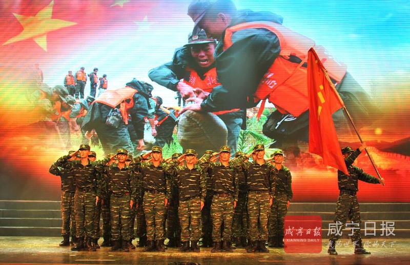 图文:香城大舞台演绎红色情怀