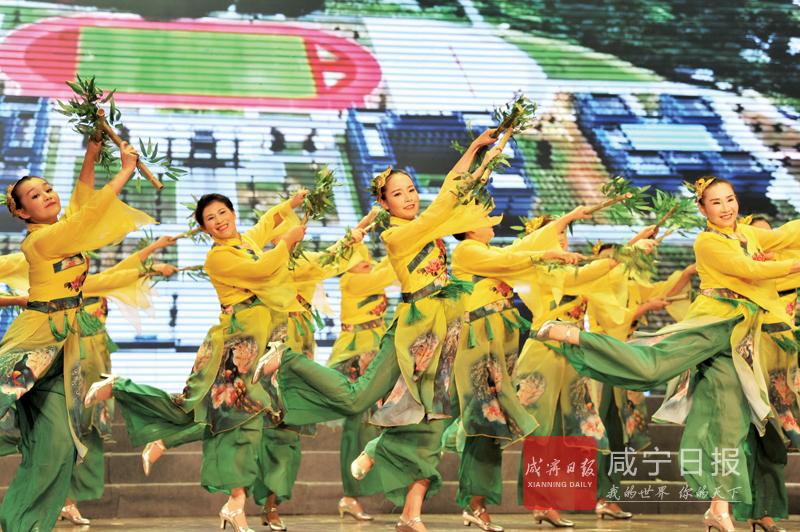 图文:第三届广场舞大赛总决赛开赛