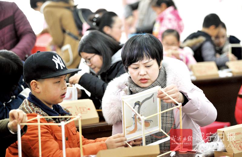 图文:感受春节民俗