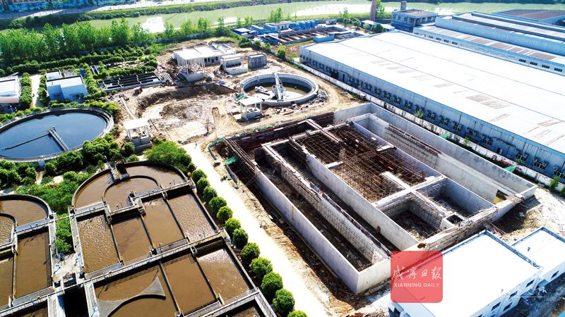 图文:城区污水处理厂改造扩建