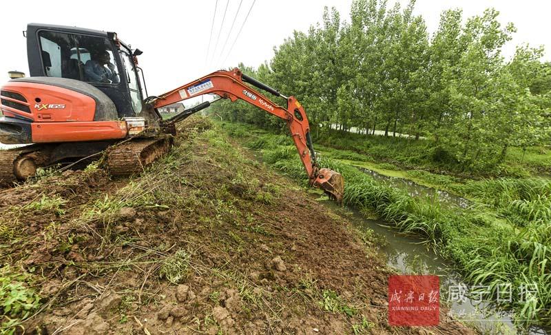 图文:峡港河治理工程开工