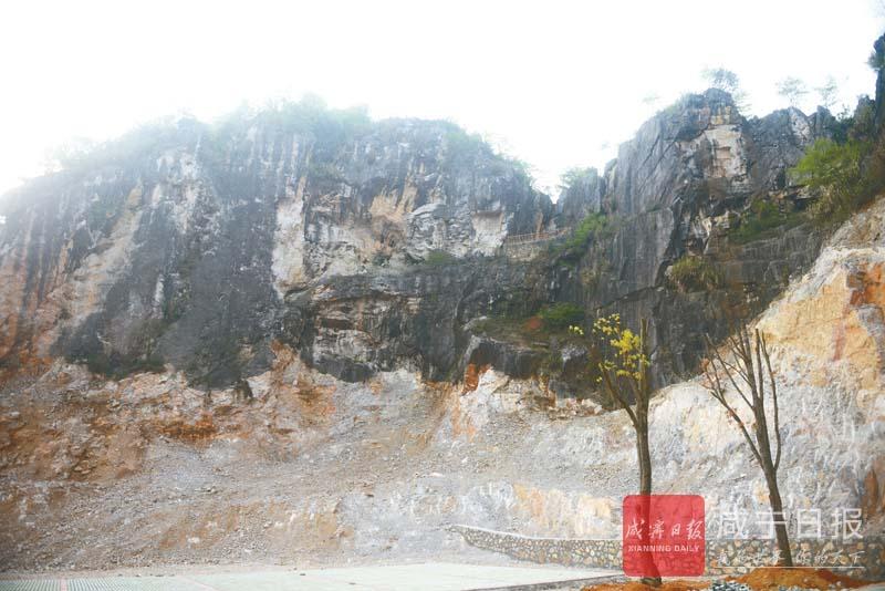 图文:采石矿山变生态山庄