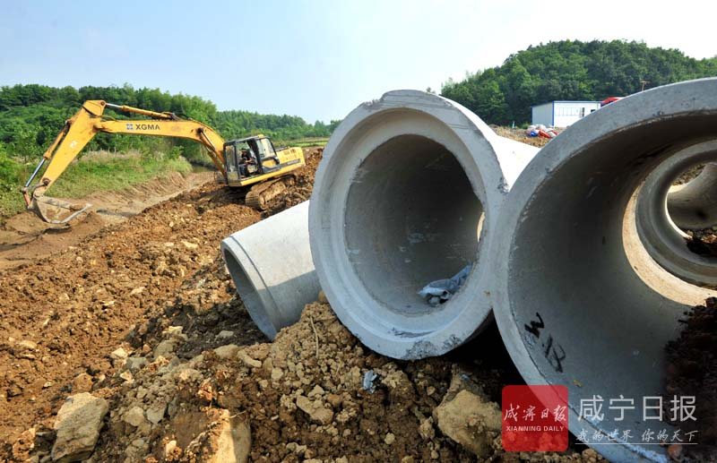 图文:建污水处理厂 打造美丽乡村