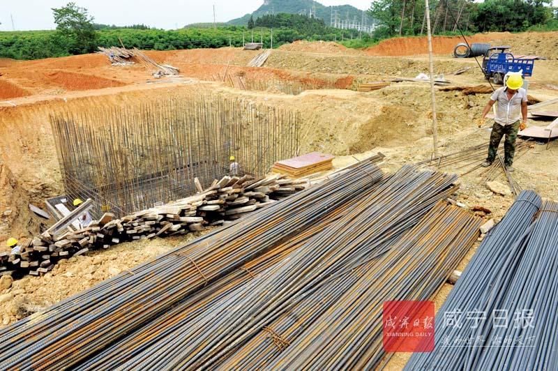 图文:建污水处理厂提升乡镇颜值