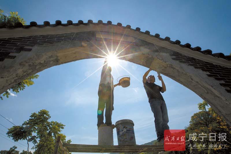 图文:修建旅游公厕