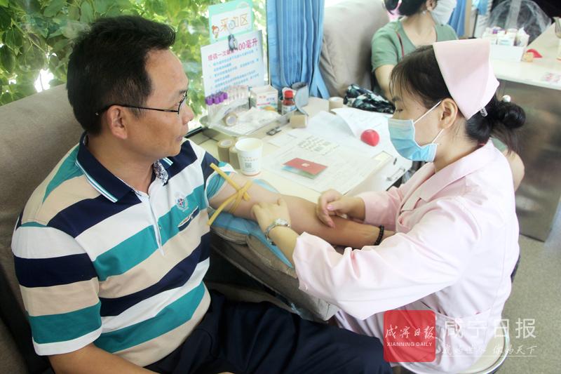 图文:无偿献血传递爱心