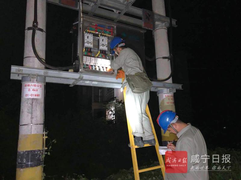 图文:咸宁供电多措并举保电网安全稳定运行