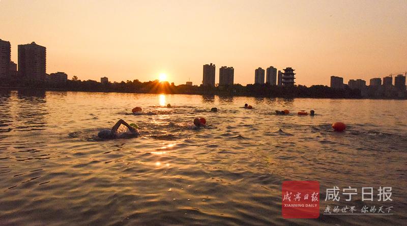 图文:湖水清清好畅游