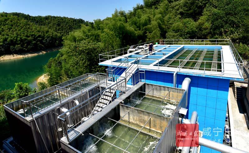 图文:确保居民饮水安全