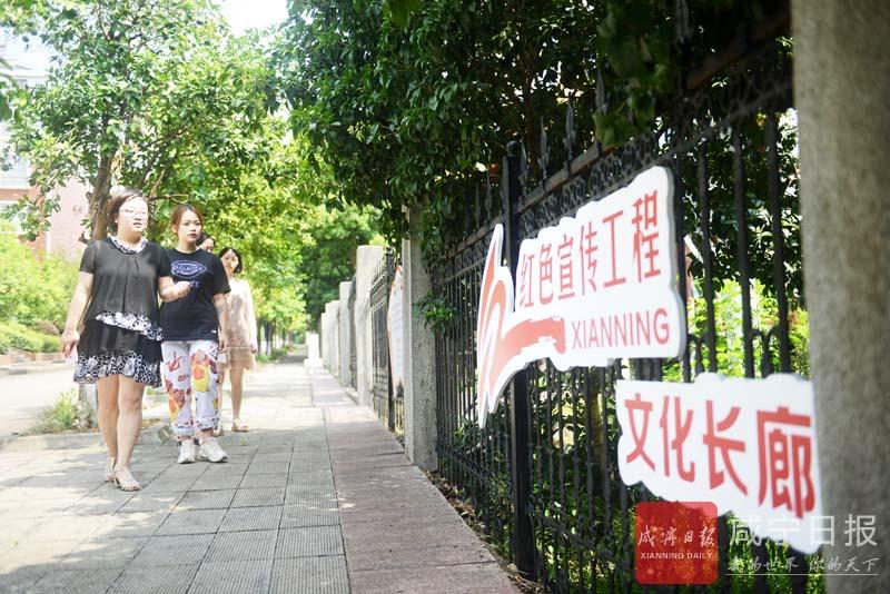 图文:红色宣传文化长廊