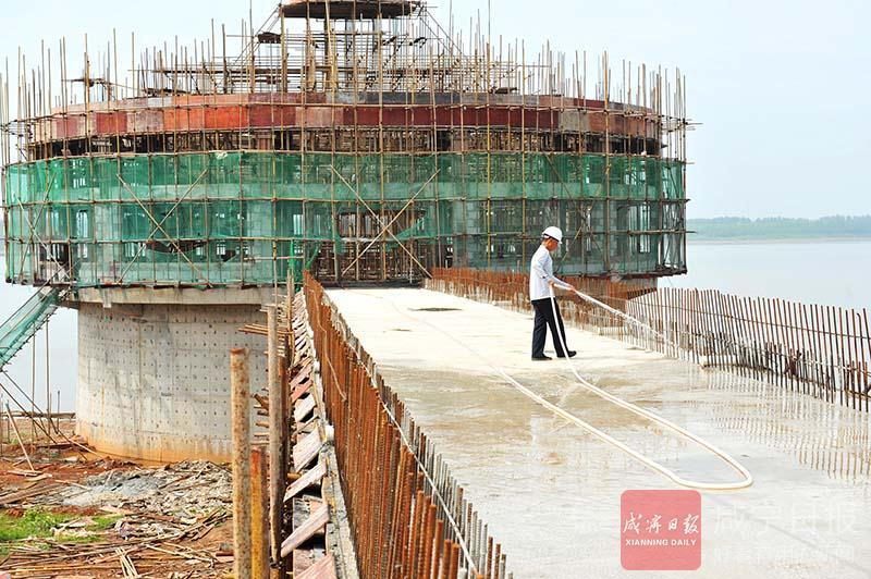 圖文:嘉魚遷建取水泵房保障城區供水
