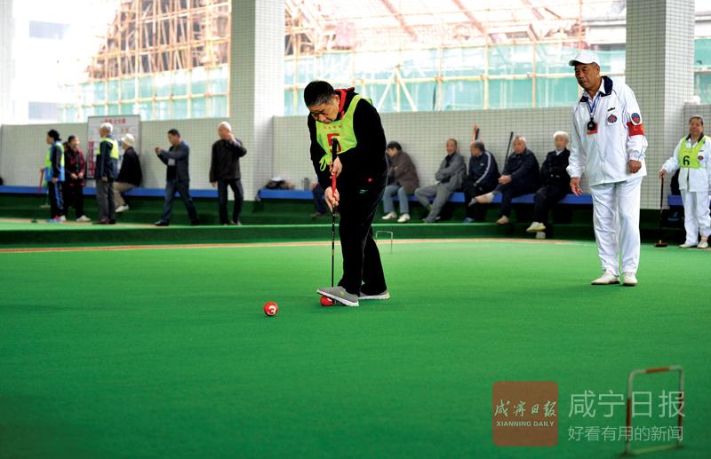 图文:社区办球赛欢度重阳节
