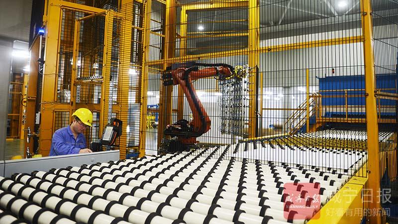图文:咸宁南玻光电玻璃引进新生产线