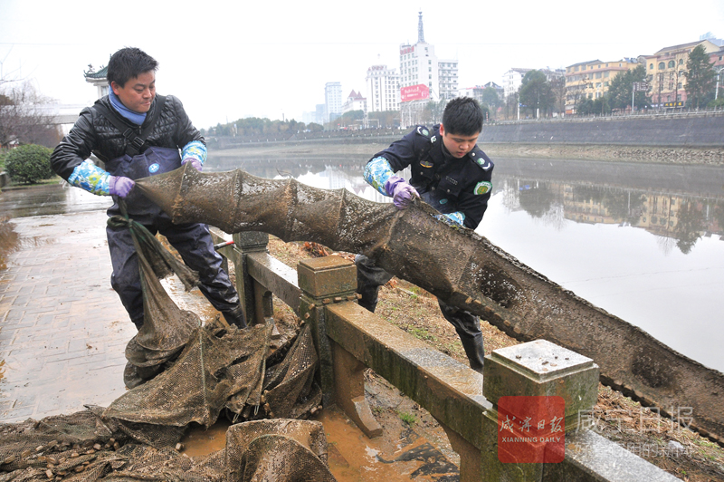 圖文:保護淦河在行動