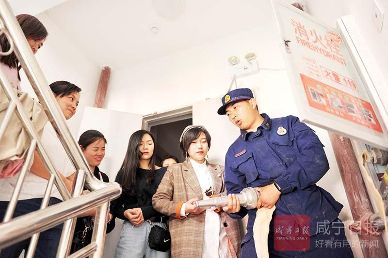 圖文:消防培訓走進社區
