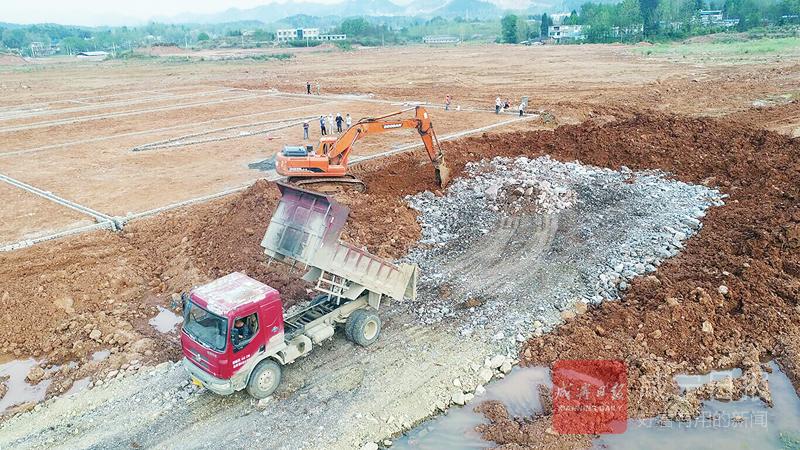 圖文:南林工業園加速建設
