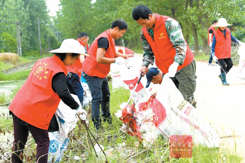 图文:整治环境保护湿地