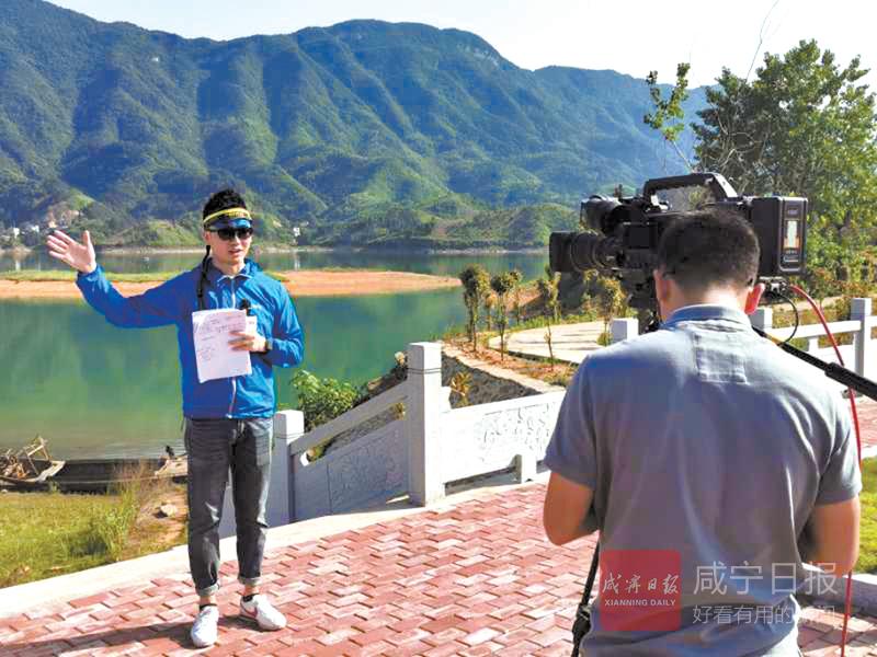 圖文:央視直播富水湖山水畫卷彰顯美麗中國