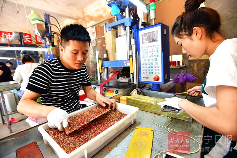 图文:回乡创业带动就业