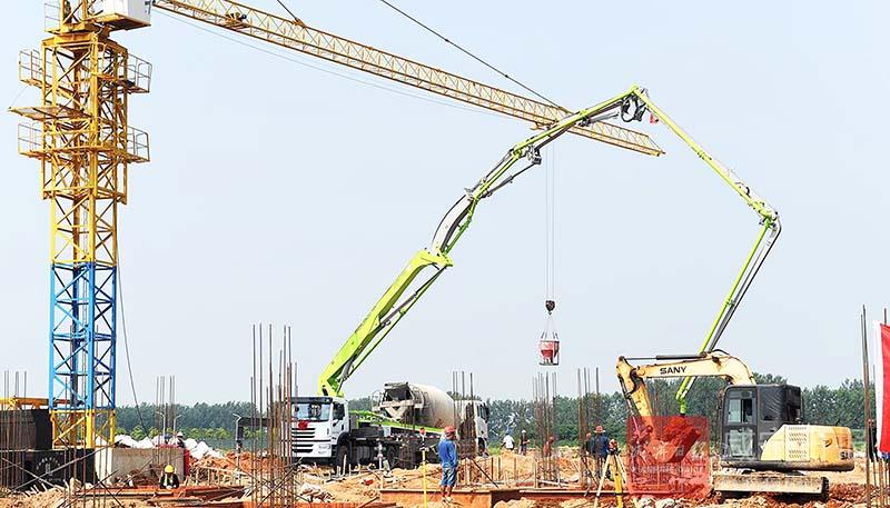 图文:中用工业项目将于年底投产