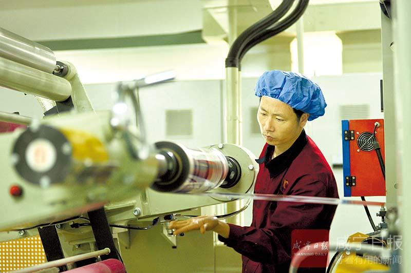 图文:党建引领示范助力企业生产