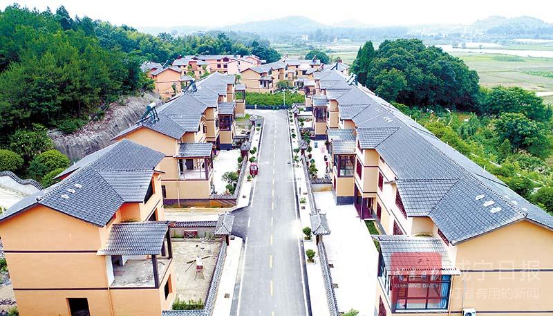 圖文:村民住進小別墅