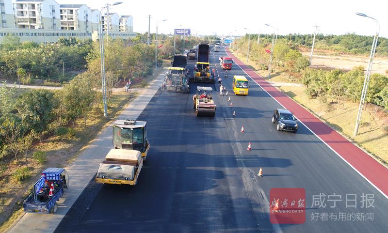 圖文:國道維修  加緊進行