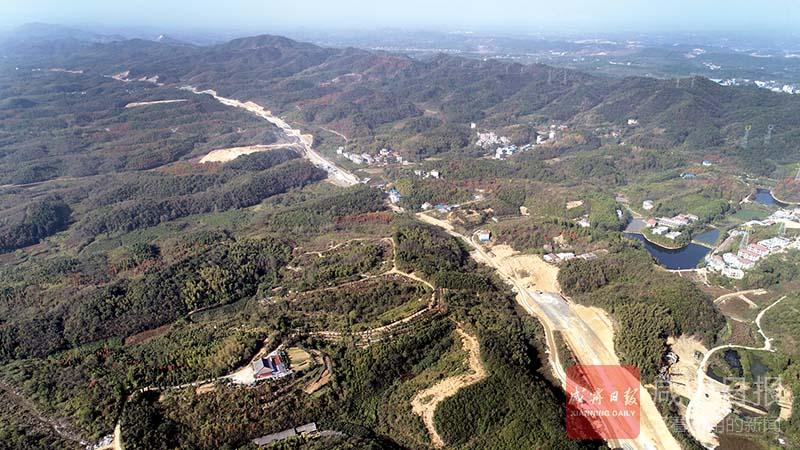 圖文:咸寧大道向西延伸?