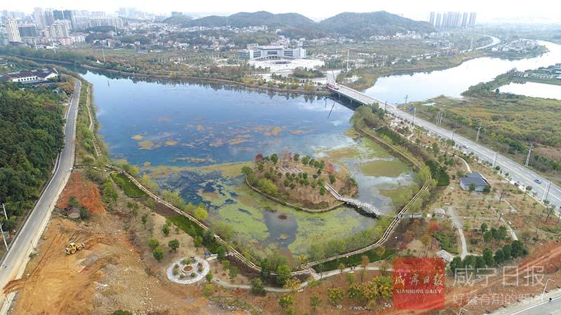 圖文:人工湖生態修復