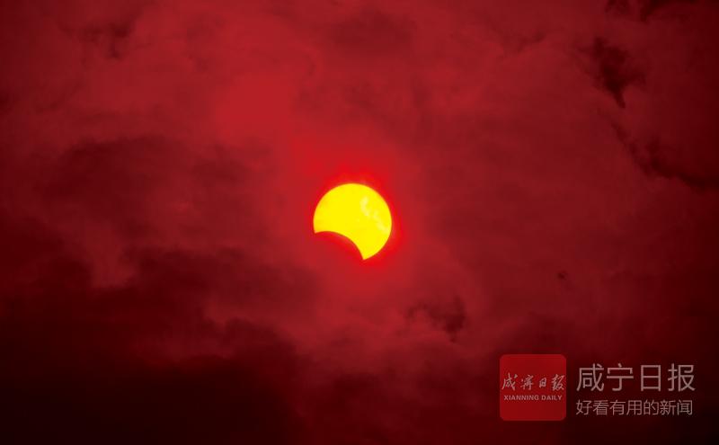 图文:金环日食天文奇观