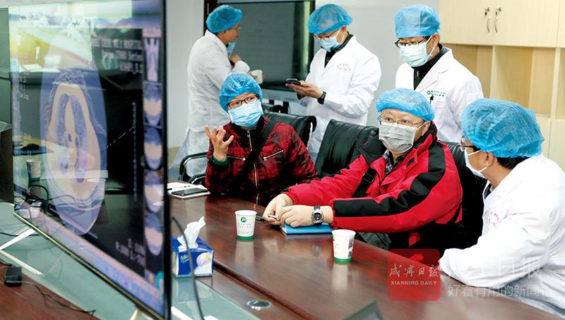 圖文︰咸寧—昆明(ming)遠程生(sheng)命線(xian)連接成功