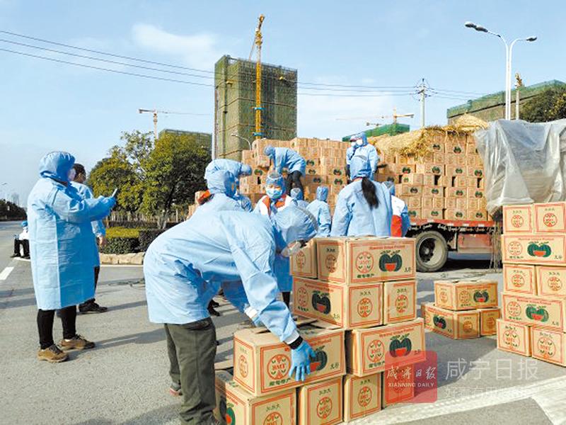 圖文︰雲南(nan)瑞麗向咸寧捐贈(zeng)150噸愛心西瓜