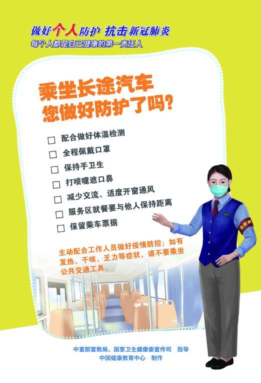乘坐長(chang)途jiu)qi)車您(nin)做好防護了嗎(ma)?