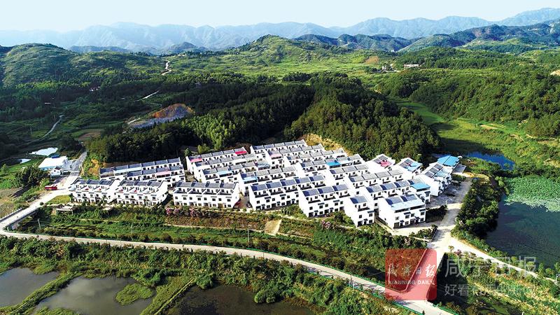 图文:生态宜居新农村