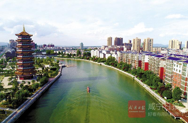 图文:通城隽水河一河两岸一步一景