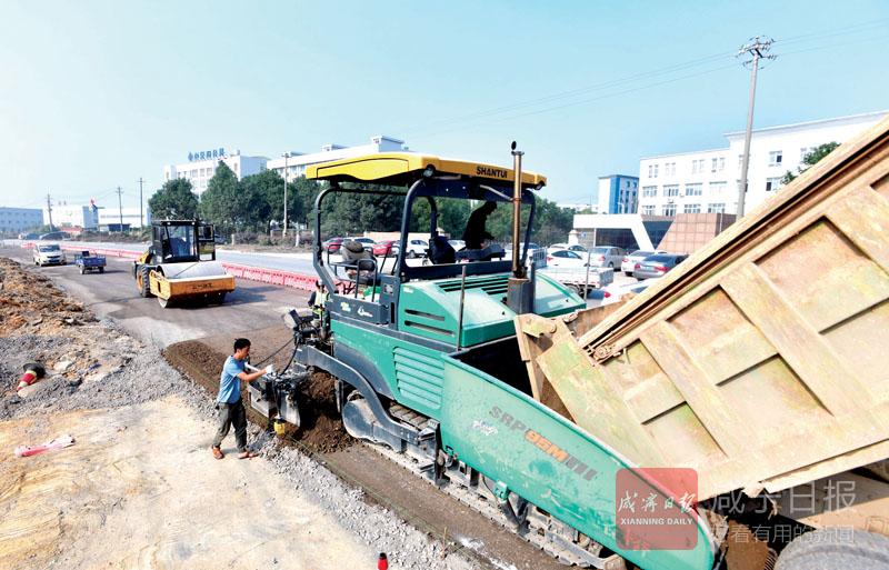 图文:香城大道改造升级